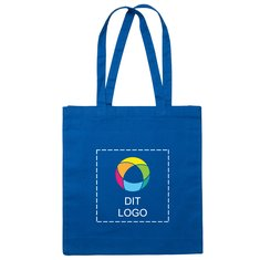 Premium kraftig bomuldsmulepose med blæktryk
