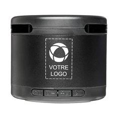 Haut-parleur Bluetooth® en métal avec station de charge sans fil Jones Avenue™
