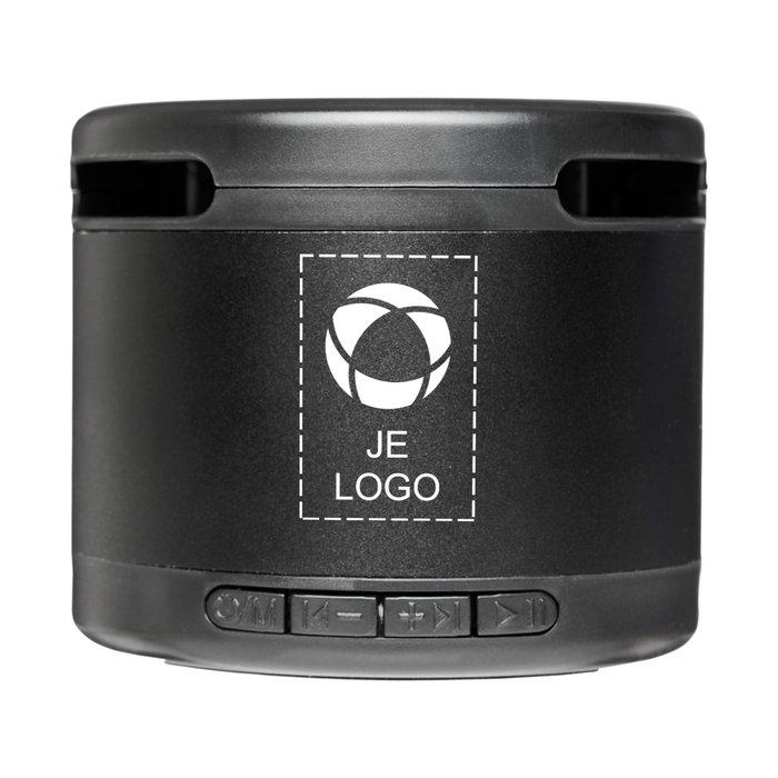 Avenue™ Jones Metal Bluetooth®-speaker met draadloze oplader