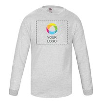 Fruit of the Loom® Kids Valueweight Long Sleeve T-shirt