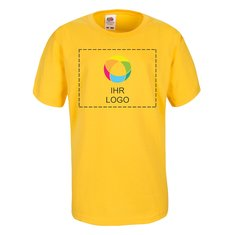 Fruit of the Loom® Kinder-T-Shirt aus Sofspun-Gewebe