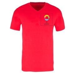 Elevate™ Kawartha Heren-T-shirt met V-hals en Korte Mouwen.
