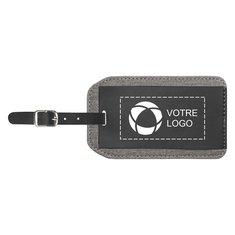 Étiquette de bagage Heathered de Bullet™