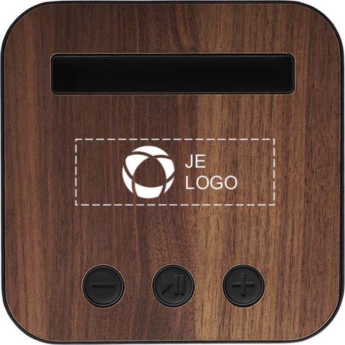 Avenue™ Shae Bluetooth®-speaker van stof en hout