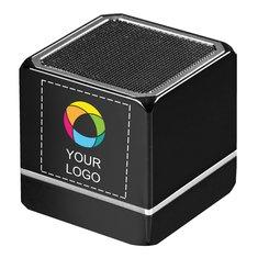 Altavoz con Bluetooth® y tecnología NFC con estampado a todo color Kubus de Avenue™