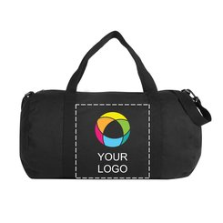 Cotton Canvas Duffel Bag Full Color Ink Print