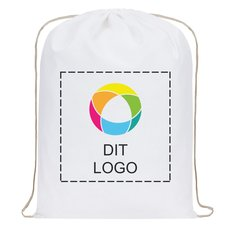 Premium rygsæk af bomuld med blæktryk
