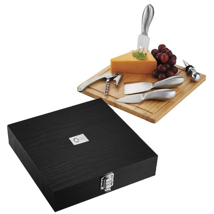 Kit per vino e formaggi con incisione a laser Mino Paul Bocuse™
