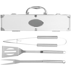 3 Piece BBQ Set Laser Engraved