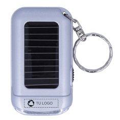 Llavero con linterna de panel solar Ringal