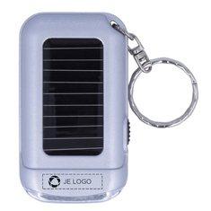 Ringal sleutelhanger met zaklampje op zonne-energie