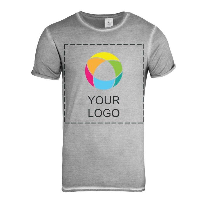 B&C™ Denim Plug In Men's Short Sleeve T-Shirt
