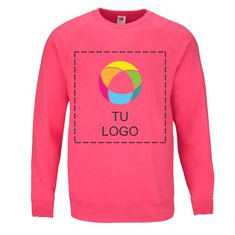 Sudadera ligera de mangas raglán de Fruit of the Loom®