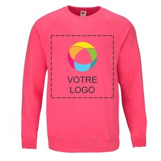 Pull à manches raglan Lightweight Fruit of the Loom®