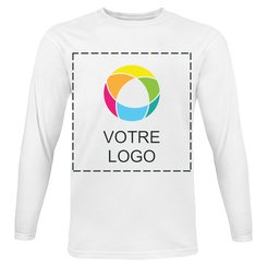 T-shirt à manches longues Super Premium Fruit of the Loom®