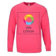 Fruit of the Loom® Lightweight-tröja med raglanärmar