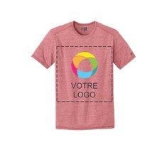 T-shirt moucheté à col rond de performance New EraMD