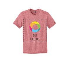 Camiseta de triple mezcla New Era®Performance de cuello redondo