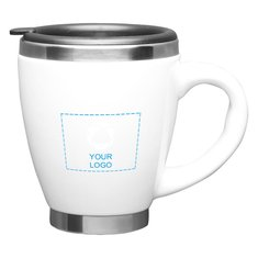Taza cerámica Collier para café, de 14 onzas