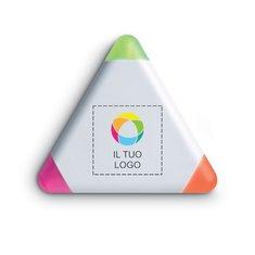Evidenziatore di forma triangolare