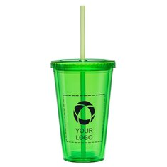 Cyclone 16-Ounce Tumbler With Straw