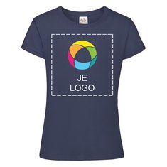 Fruit of the Loom® Softspun T-shirt voor meisjes