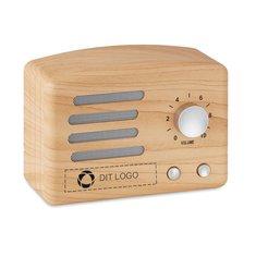 Jackson Bluetooth®-højttaler i træ
