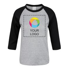 Port & Company® Youth ¾ Sleeve Raglan T-Shirt