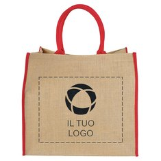 Shopper grande in iuta Bullet™