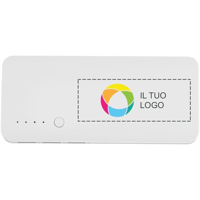 Caricabatterie portatile da 10000 mAh Spare Avenue™ con stampa a colori