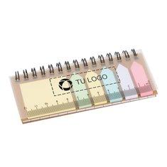 Libreta de notas adhesivas de encuadernación en espiral de Bullet™