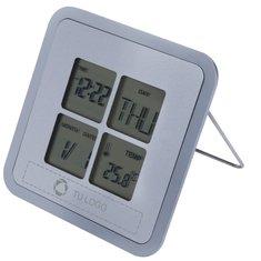 Reloj despertador grabado con láser