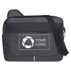 "Avenue™ Power Stretch 17"" Laptop Messenger Bag"
