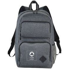 "Avenue™ Graphite Deluxe 15.6"" Laptop Backpack"
