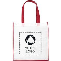 Grand sac fourre-tout non tissé bicolore Shopping de Bullet™