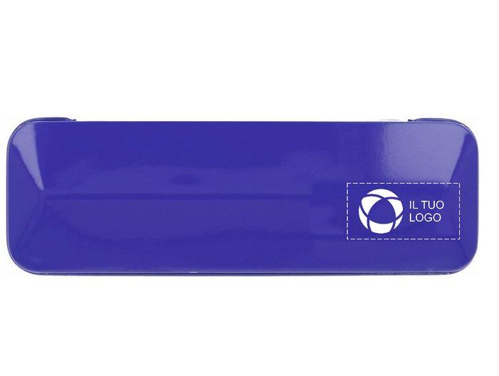 Set personalizzato con penna a sfera in alluminio Alucolor