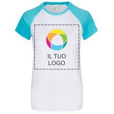 Maglietta da donna a maniche corte Milky Sol's®