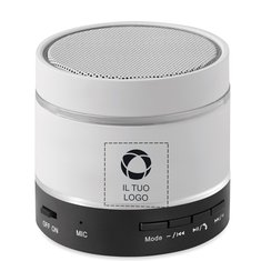 Altoparlante luminoso Bluetooth Round