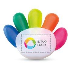 Evidenziatore Colore con stampa a colori