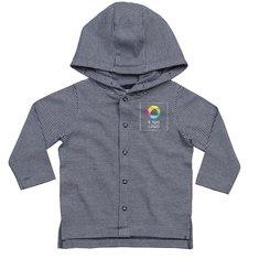Maglietta da neonato con cappuccio e righe Mantis™