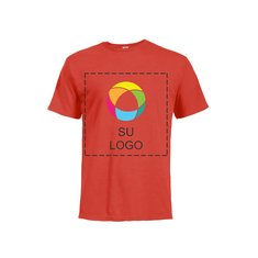 Camiseta Delta de manga corta hilada por anillo