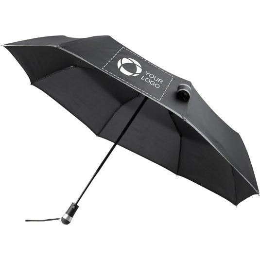 ebd85b76a Marksman™ lysende LED paraply med automatisk åbning