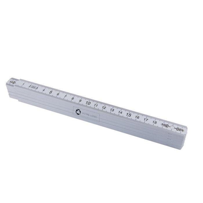 Mètre pliable de 2 m