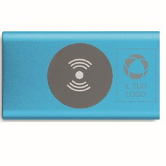 Caricabatterie portatile da 4000 mAh con incisione laser Power&Wireless