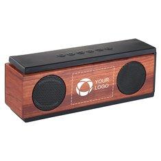 Haut-parleur Bluetooth® en bois Native d'Avenue™
