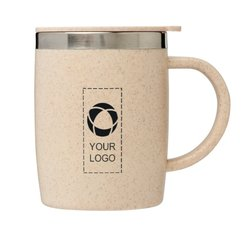 Bullet™ Wey 400 ml Wheat Straw Insulated Mug