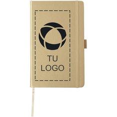 Libreta de formato A5 metalizada de JournalBooks™