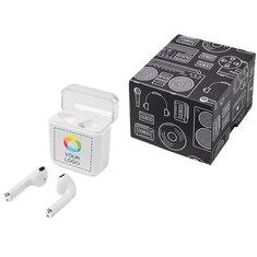 Écouteurs sans fil Braavos d'Avenue™ imprimés en couleur