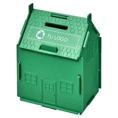 Hucha de plástico en forma de casa Uri de Bullet™