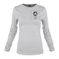 Damen-T-Shirt Curve von Slazenger™, Langarm